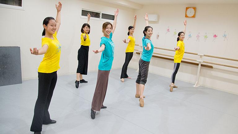 二回完結クラス エンジョイジャズダンス